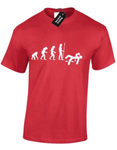 음주 운전의 진화 T-Shirt 탑 기쁜 인쇄 된 디자인 알코올 JOKE SLOGAN
