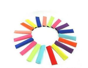 Popsicle Sahipleri Pop Buz Kollu Dondurucu Pop Sahipleri Çocuklar Yaz Mutfak Araçları için 15x4.2 cm 10 renk