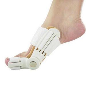Novo dispositivo Joanete de hálux valgo Suspensórios Toe correção Pés Cuidados Corrector Thumb Noite Diário Big Bone Suspensórios Corrector Banda