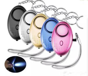 130db Egg Shape Self Defense Alarm Girl Women Security Protect Alert Personal Safety Scream Loud Keychain Alarm LLFA