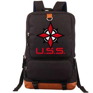 USS backpack Resident Evil daypack Umbrella Security Service game schoolbag Leisure rucksack Sport school bag Outdoor day pack