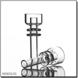 Chiodo senzatetto al quarzo 14mm 18mm Produttore bubbler ricambio Elemento di iniezione diretta domeless di grado medicale per tubo dell'acqua
