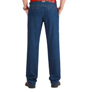 Tiger Castle Algodón Primavera Verano Hombres Jeans Ligero Clásico Pantalones de mezclilla Hombre Lavado Baggy Azul Diseñador Causal Hot SALE Jeans Hombre