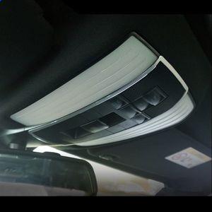 Liga de alumínio Car Roof Reading Lamp guarnição moldura de decoração cobertura para Mercedes Benz E Classe W212 180 200 260 2010-15