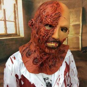 Masques effrayants Halloween Horreur diable Latex fantôme Corpse Zombie Vampire maison hantée adulte cosplay costume masque Props secret Chambre 35ml bb
