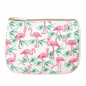Travel cosmetic bag PU printing waterproof storages bag wash bag storage bags girl wind spots gift