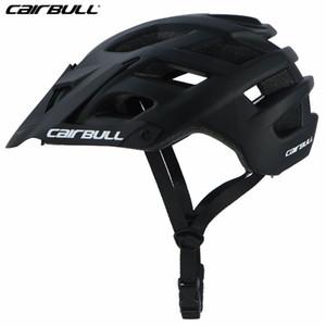 New PC + EPS da bicicleta ajustável viseira Montanha Capacete Homens Mulheres Segurança MTB Casque V