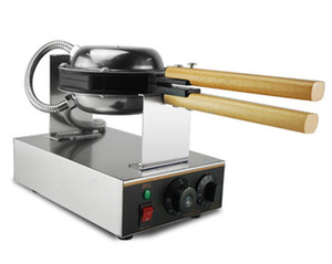 CE Belgelendirme ile yüksek Kaliteli HongKong Yumurta Waffle Makineleri Makinesi 220 v 110 v Yumurta Puffs Maker Kabarcık Waffle ma ...