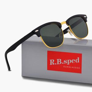 Marka Tasarımcısı Polarize Güneş Gözlüğü Erkekler Kadınlar için Güneş gözlük Kedi Göz Çerçeve polaroid Lensler Metal Menteşe Gafas de sol kahverengi ile ...