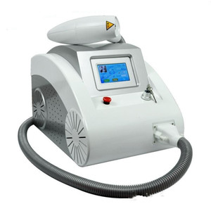 2018 Ev CE Onaylı Dövme Silme Makinesi Fiyat / Taşınabilir 1064 532nm Q Anahtarlı ND Yag Lazer