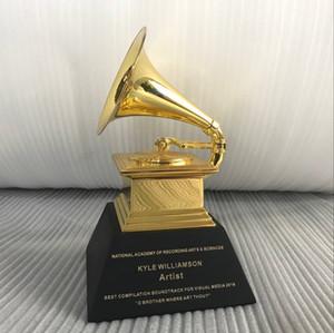 Grammy Trophy Awards von Free DHL Schiff mit schwarzem Marmor Basis Metall Grammy Trophy Awards Souvenir Geschenk Prize