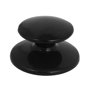Оптово-4.8mm Винт Диаметр отверстие Кухни Пот Пан черная Пластиковые крышки ручка ручка посуда Часть крышка руки Грип