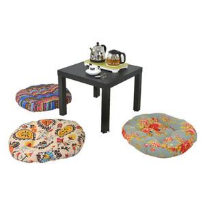 Cuscino per divano Cuscino rotondo decorativo Cuscino per sala da pranzo Sedia per esterno Grande dimensione Rotondo Cuscino spesso per sedia da pavimento Diametro 50cm