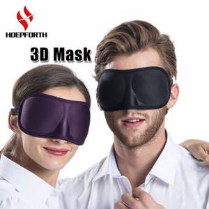 Uyku Maskesi 3D Süper Yumuşak Nefes Kumaş Siperliği Göz Maskesi için Taşınabilir Yardım Göz Maskesi Kapak Eyepatch Seyahat Uyku istirahat