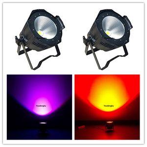 Venta caliente 6in1 rgbwa uv led par light dj cob led stage stage puede 64 200w cob led par light