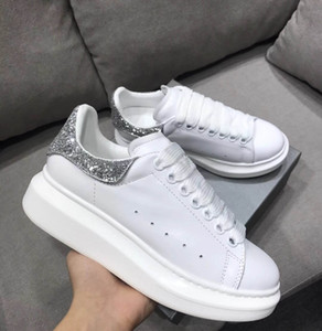 Cheap Designer female women sneaker Casual Shoes top real leather Sneakers red bottom ace Shoes Velvet Sports Sneakers 35-40