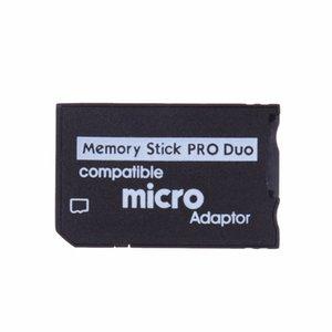 Micro SD para Memory Stick Pro Duo Adaptador MicroSD TF Conversor Compatível Micro SDHC para MS PRO Duo Leitor de Memory Stick para Sony PSP 1000 2000