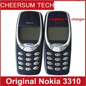 Бесплатный DHL отремонтированы оригинальный NOKIA 3310 сотовый телефон GSM 900/1800 DualBand игры 4 разблокирован дешевый телефон nokia