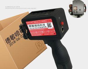 HOT SALE M7 handheld online intelligent inkjet printer food packaging production date barcode coding machine OEM printer X54