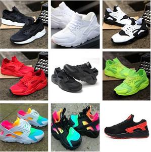 2018 Air Huaraches Ultra Running Shoes Huaraches Rainbow Ultra Sapatos de Respiração do Ar Grande crianças Grandes Homens Mulheres Huraches Sapatilhas Multicolor Sapatos