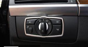 Vuelva a colocar la consola delantera Cabeza Interruptor de luz Cubierta de la cubierta para BMW X5 E70 2007-2013 / X6 E71 08-14