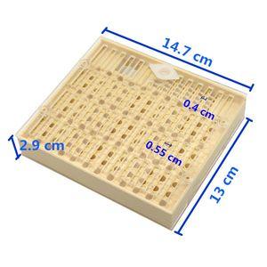 1 Unids Equipo de Apicultura Herramientas Crianza Queen Bee Caja de Plástico Jaula Para Apicultor Profesional Apicultura Proveedor envío gratis