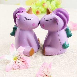Jumbo Unicorn Squishy Lento Rebote Descompressão Brinquedos Animal Forma Squishies Squeeze Toy Novidade Presente Do Miúdo Chegam Novas 7sw C
