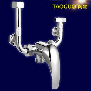 All-cuivre universel chauffe-eau mitigeur U-type mélangeur soupape mélangeur douche robinet chaude et froide mitigeur d'eau