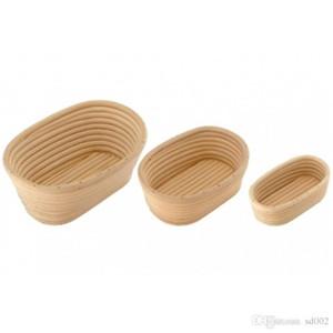 Nicht toxische Baguette Brot Körbe Praktische Küche Backen Werkzeuge Teig Banneton Brotform Proofing beweisen Rattan Korb New 31xh5 ZZ