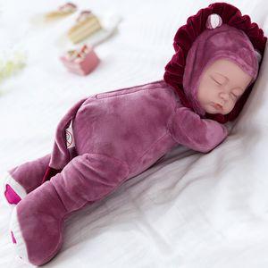 35 cm bambola giocattolo per bambini placare sonno accompagnamento carino vinile peluche ragazza collezione regalo bambino