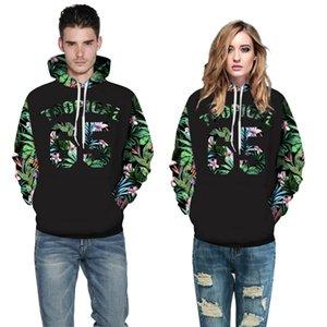 남녀 후드 남성 / 여성 3d 스웨터 인쇄 번호 편지 꽃 이쁜이 후드 캐주얼 뜨거운 판매 후드 그래픽 스웨터