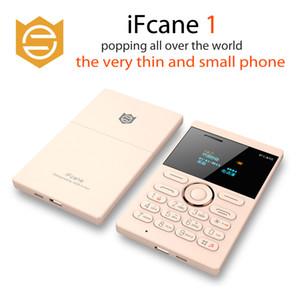 Bluetooth Unlock Phones Card 5.8mm Small Card Ifcane Mobile MP3 con telefono cellulare originale portatile Ultrathin Mini Mini FM E1 HOCNX