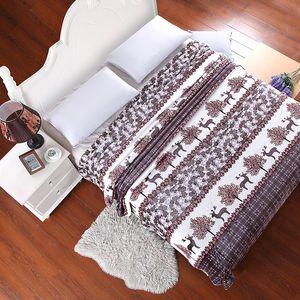 Новый дизайн Мир Покрывало Одеяло 120x200cm высокой плотности Super Soft фланель Одеяло Для ПО для портативных пледы Диван / кровать / Автомобильные