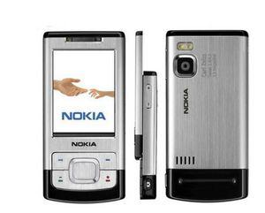 Original 6500s Nokia Mobile Phone 3.2MP câmera Bluetooth 6500 Slider único cartão sim remodelado celular