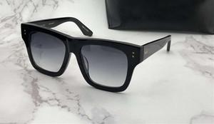 Creatore nero quadrato gli occhiali da sole Lente Grigio Gradient unisex da sole des lunettes de soleil Mens occhiali Occhiali da sole Nuovo