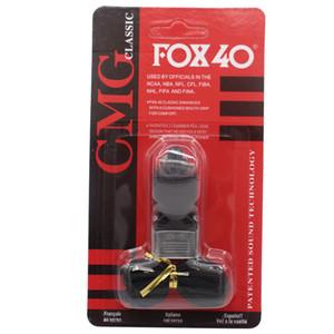 Nouvelle arrivée F OX 40 classique de football officiel Whistle Whistle Football Basket Sifflet Arbitre 4 couleurs Sport Accessoires