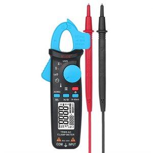 ACM82 Digital True RMS Mini Clamp Meter Auto Range 0.001A Prueba de corriente Hz Temp Ohm uF Alerta V Verificación en vivo con clip de bolsillo