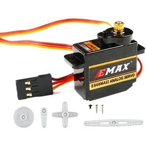100% Orginal EMAX ES08MA II Mini Metal Gear analógica Servo 12g / 2,0 kg / 0,12 Sec Mg90S