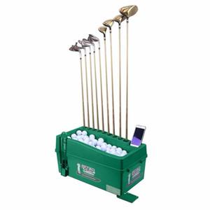 الجملة PGM Golf Ball Dispenser ، لا يوجد كهرباء / لا كهرباء مطلوبة ، موزع كرة جولف نصف تلقائي ، معدات تدريب الجولف.