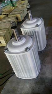 2KW / 2000W 380 tr / min alternateur horizontal hydraulique de vent alternatif / turbine hydraulique de dynamoteur de force hydraulique à aimant permanent