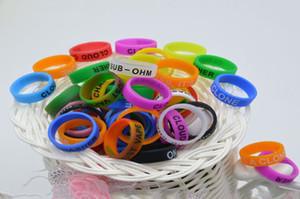 2018 i più nuovi 22 millimetri banda colorata anelli in silicone per Vape Band Vape silicone fai da te serbatoio Mod personalizzato trasporto libero