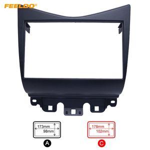 FEELDO 2Din Fascia for Honda Accord 2002-2007 Radio DVD Stereo CD Panel Dash Mounting Installation Trim Kit Face Frame Fasica #2349