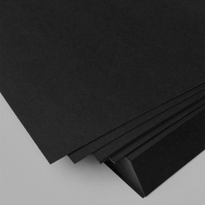 50pcs free shipping A4 size 21x29.7cm Black paper 250gsm card paper, DIY gift cardboard DIY model wedding party decorations