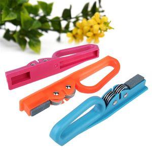 Knife Slicker For Kitchen Multipurpose New Multifunction ECO Friendly Sharpening Rod Knives Stone Sharpeners Hot Sale 3 1sc V