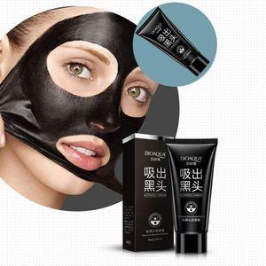 New Black Mask Maschera per il viso Naso Rimozione di comedone Peeling Peel Off Black Head Trattamenti per l'acne Aspirazione per il viso 1618 DQ4