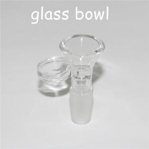 4 мм толщиной прозрачное стекло чаша оптовые продажи с 14 мм 18 мм мужской сустав для стекла бонг нефтяной вышки Бесплатная доставка