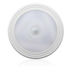 Wireless PIR LED Motion Sensor Night Light 100 Degree Auto On Off Closet Magnetic Back Wall Wardrobe Cabinet Lamp Battery Power For Bathroom