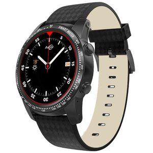 W1 Smart Watch Phone 1.39 pollici GPS Tracker Fitness Heartrate Monitor Pedometro MTK6580m 3G / 2G Frequenza cardiaca Telefono Smartwatch Band