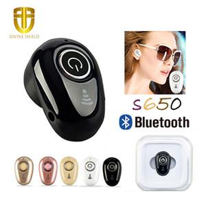 Sport Courir S650 Mini Bluetooth 4.1 sans fil furtif écouteurs musique Casque stéréo Casque pour iphoneX iphone 8 Pour Samsung NOTE8