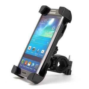 Soporte universal del clip del manillar del soporte del teléfono de la bicicleta para el tenedor del teléfono de la bici del soporte del montaje del iPhone 8 7 5 SE para Samsung S8 S7